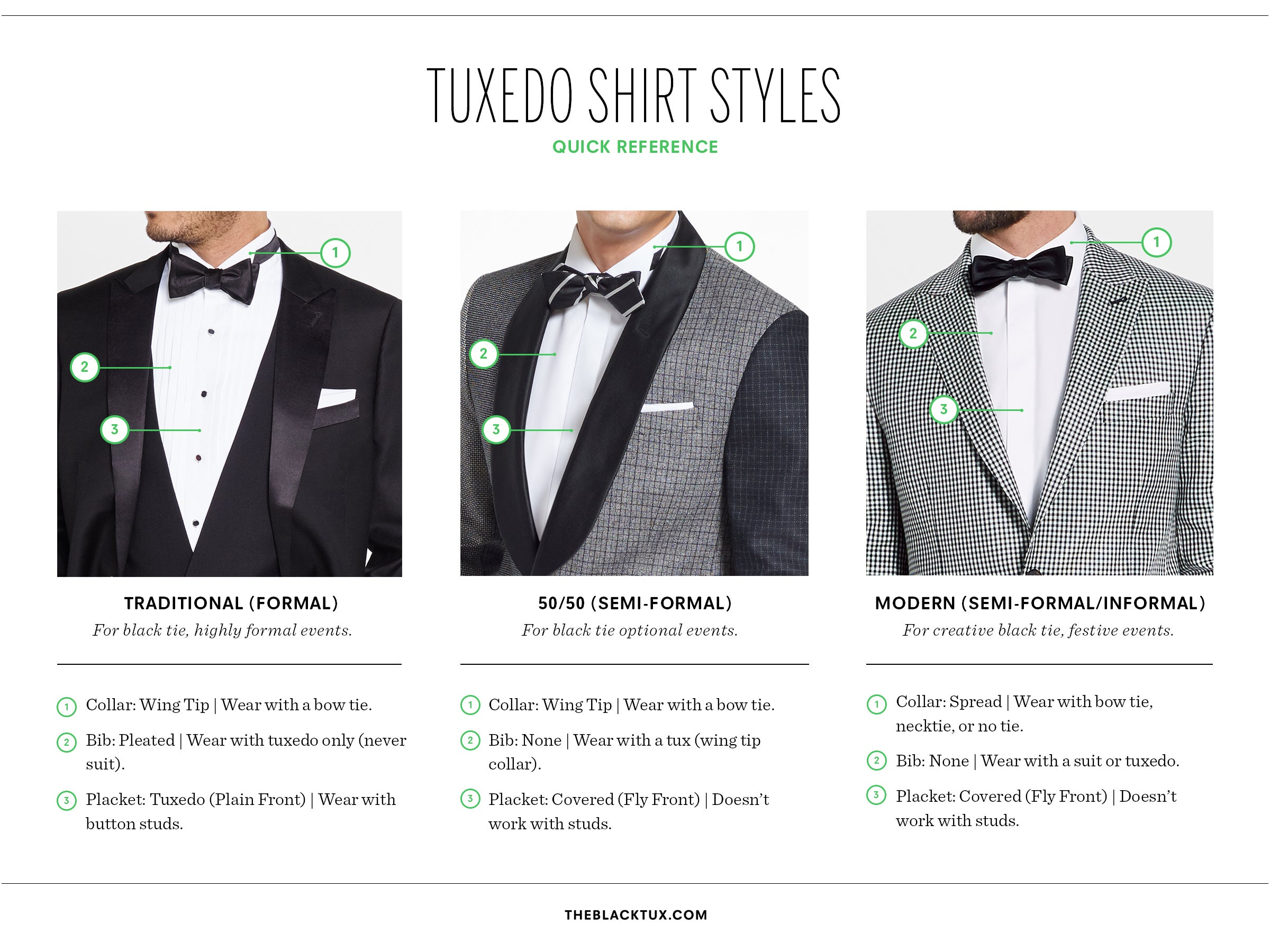 Tuxedo Shirt Styles for 2018: A Complete Guide